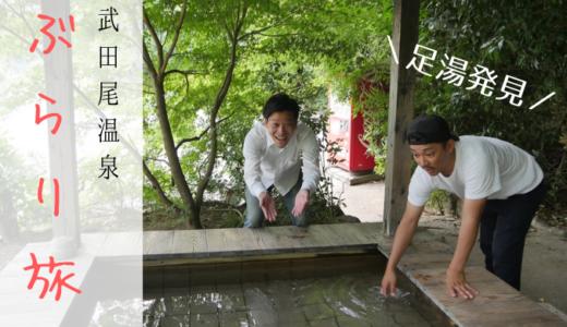 秘境・武田尾温泉周辺へぶらり旅。大自然の中に無料の足湯を発見!【ドライブにもおすすめ】