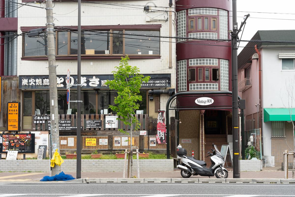 夙川の人気カフェヨーキーズブランチの外観
