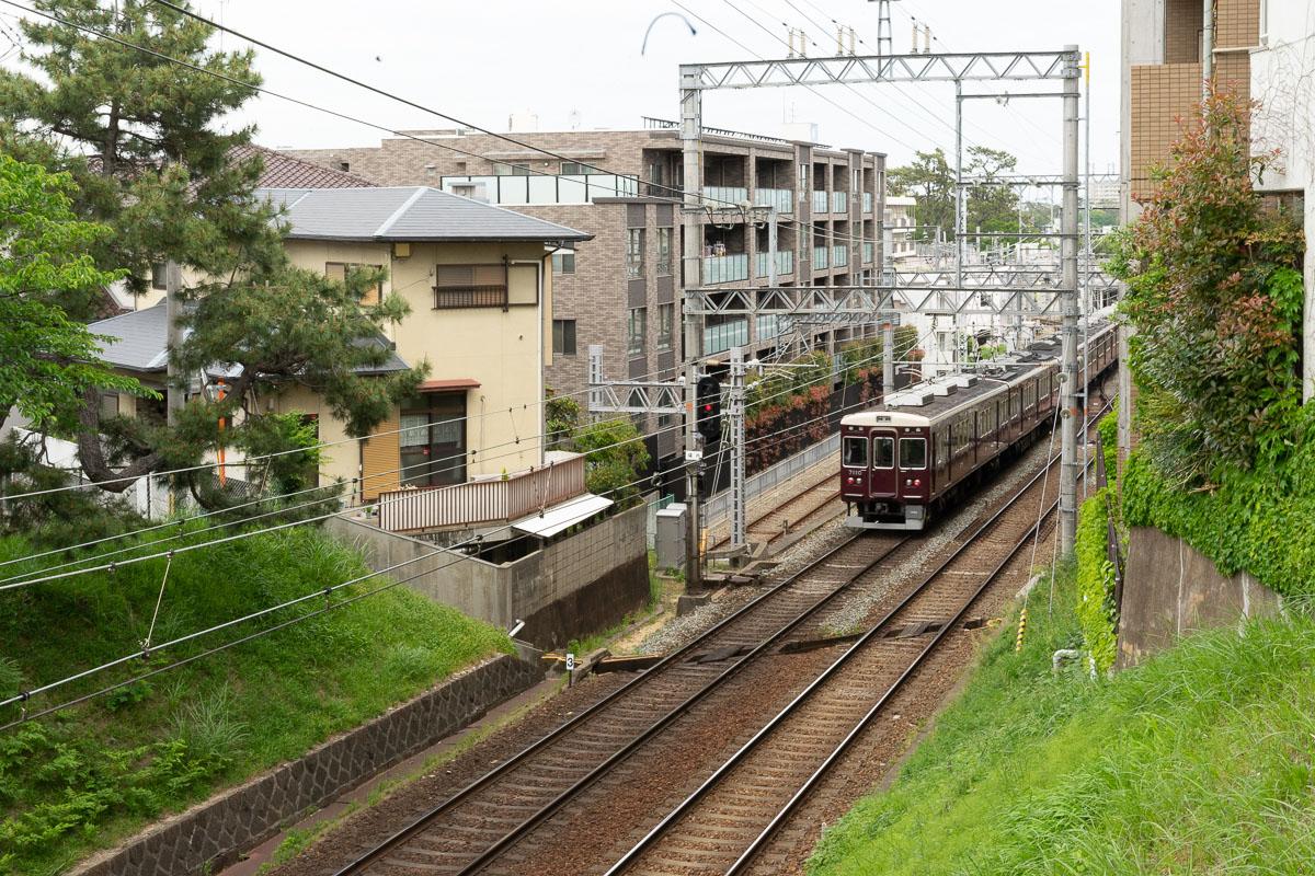 兵庫県西宮の人気カフェヨーキースブランチの最寄駅は夙川駅